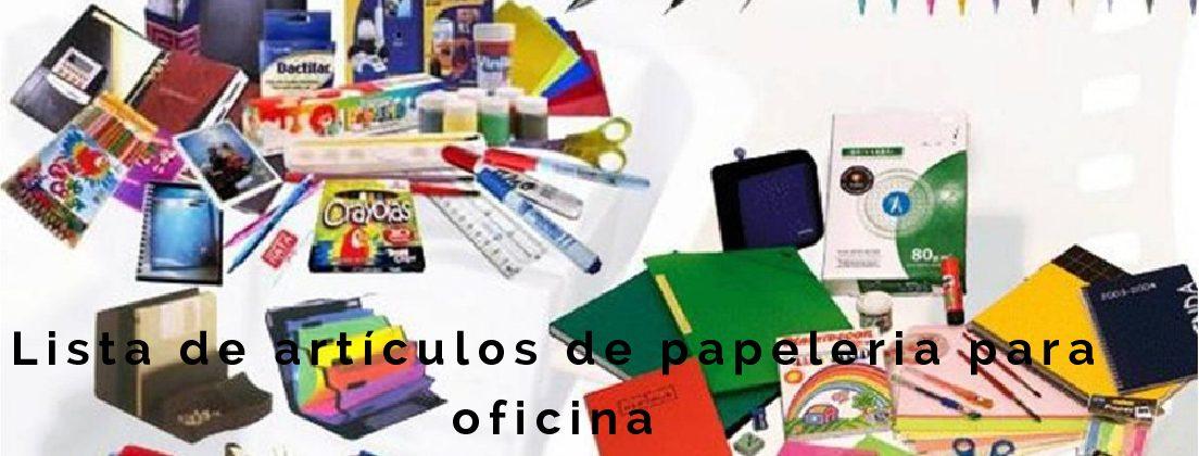 Lista de art culos de papeleria para oficina panafargo - Articulos de oficina ...