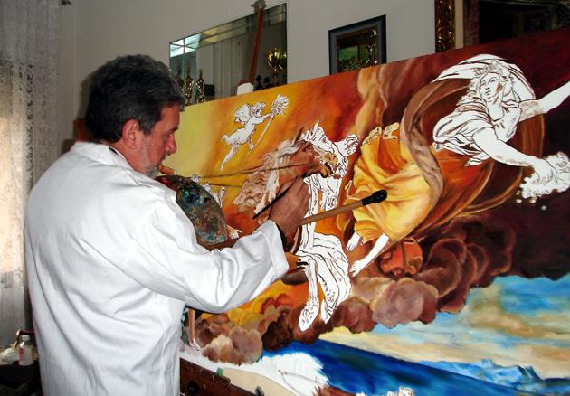Pintura Al Oleo Paso A Paso Panafargo Incluye 6 Pasos