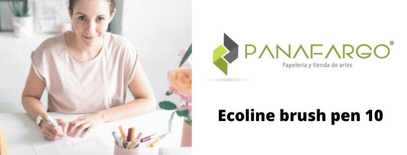 Ecoline brush pen 10 artista