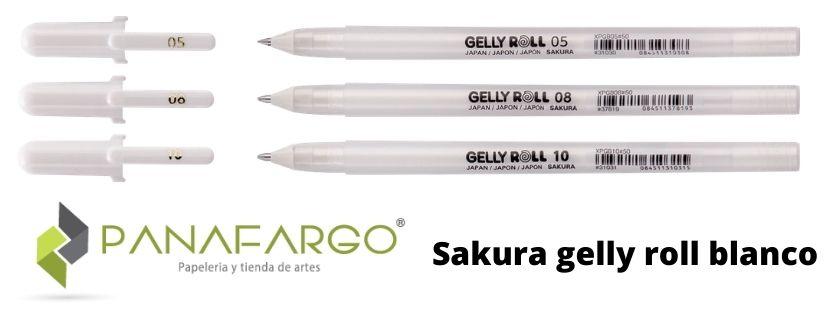Sakura gelly roll blanco imagen-2