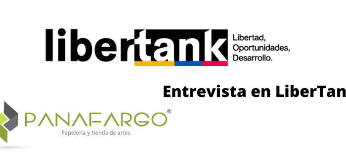 Imagen entrevista online en LiberTank de Panafargo