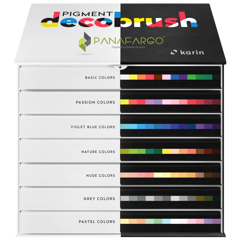 Pigment decobrush master