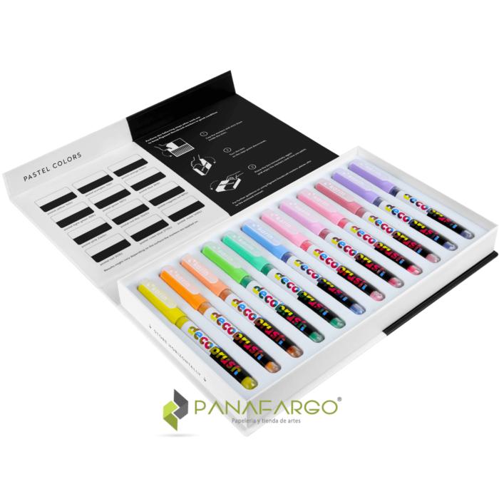 Pigment decobrush pastel