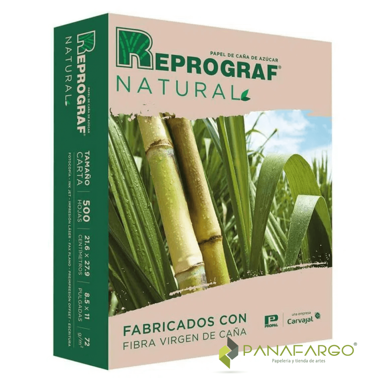 Resma carta reprograf natural Panafargo