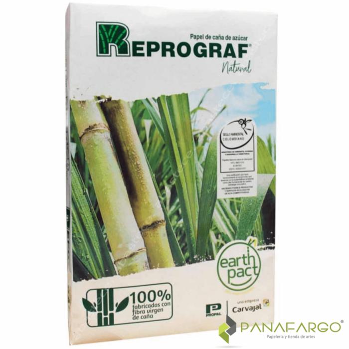 Resma papel reprograf oficio natural Panafargo