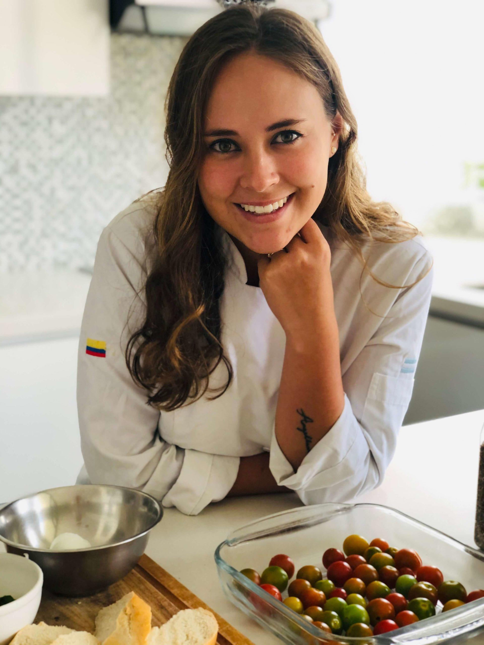 Taller de cocina virtual Chef Christine Benson