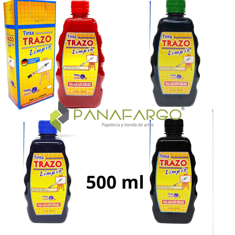 Tinta trazo marcador borrable x 500 + Panafargo