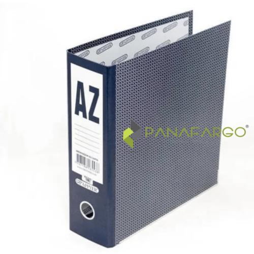 AZ Carta Archivador FabriFolder Azul Oscuro
