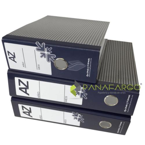 Archivador AZ Medio (12) Oficio Opciones y Formas + Panafargo