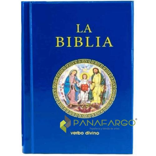 Biblia Pasta Dura Verbo Divino + Panafargo