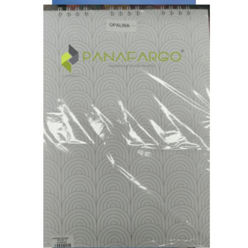 Bitácora Opalina 180gms 35 X 25 (18) X 50 Hojas Pasta Dura + Panafargo