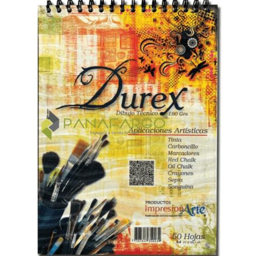 Block Bitácora Papel Durex 190 gs A4 X 50 Hojas + Panafargo