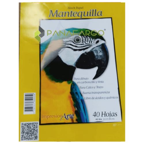 Block Mantequilla Carta + Panafargo