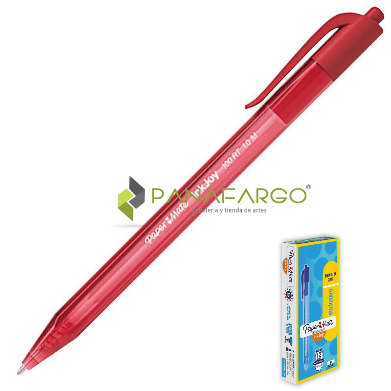 Bolígrafo Kilométrico Retráctil 100 Rojo 2