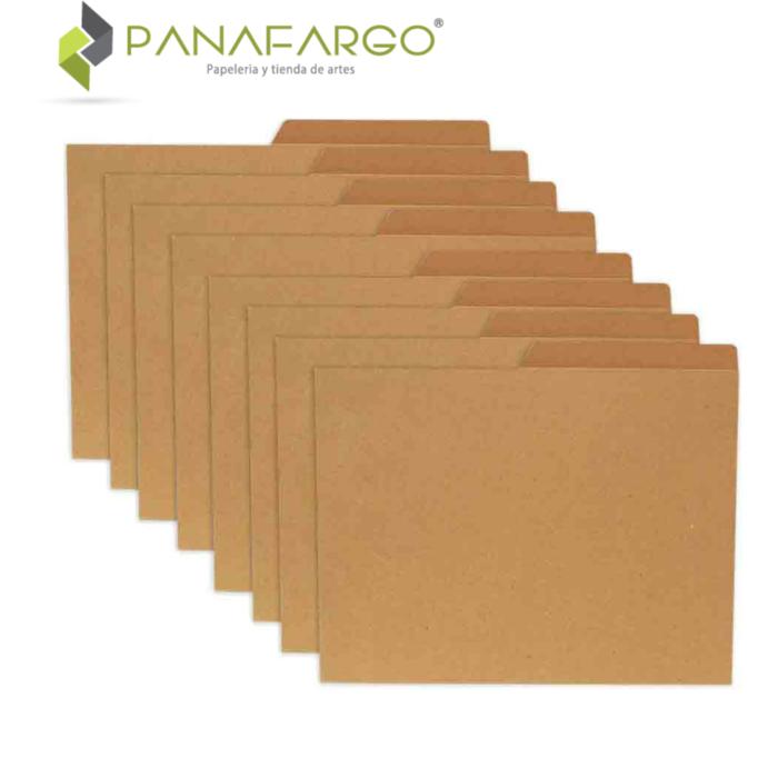 Carpeta Yute Carta FabriFolder De 250 Gms varias + Panafargo
