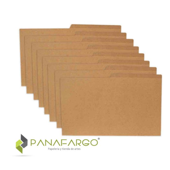 Carpeta Yute Oficio 250 gms FabriFolder + Panafargo