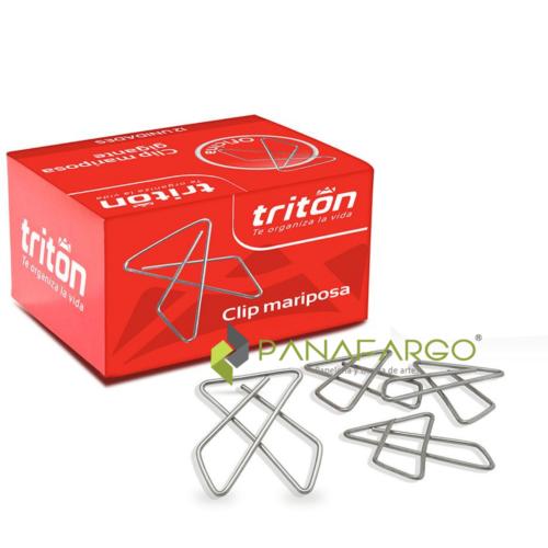 Clip Mariposa Triton Gancho metalico Por 50 Und + Pänafargo
