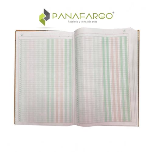 Cuaderno de Contabilidad 100 folios Impresarte + Panafargo
