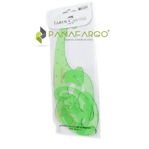 Curvígrafo Faber Castell Estuche X 3 + Panafargo
