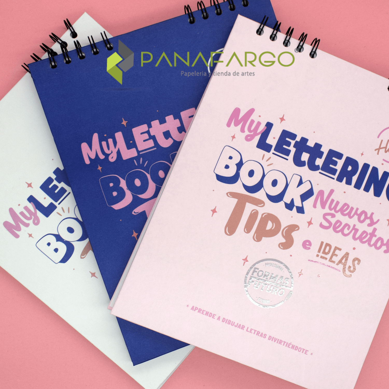 Libro Lettering Argollado de 50 Hojas Forma Futuro + Panafargo