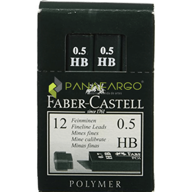 Minas Faber Castell 0.5mm Polymerizadas caja + Panafargo