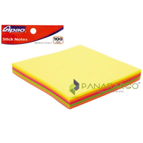 Notas Adhesivas Taco Gipao Surtido X 100 + Panafargo