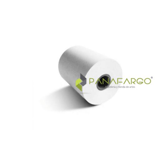 Rollo Para Caja Registradora Bond 57 mm X 40 mts und + Panafargo