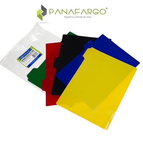 Separador de Folder Plástico 105 FabriFolder IPP destapado + Panafargo