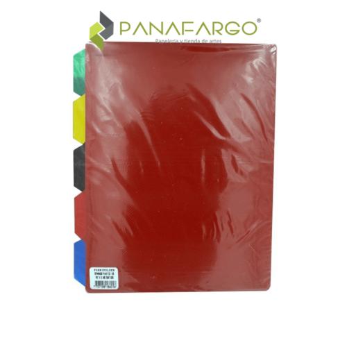 Separador de Folder Plástico 105 FabriFolder IPP sellado + Panafargo