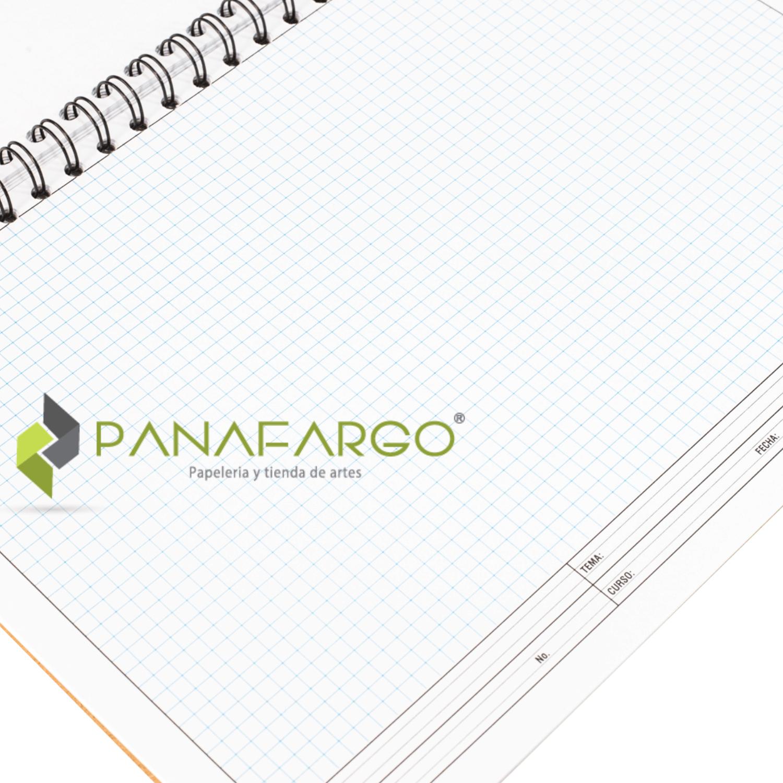 Block Base 30 Rotulado Argollado 18 cuadricula nombre + Panafargo
