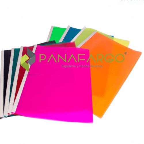 Carpeta Bisel Carta y Oficio Plastica Surtida + Panafargo