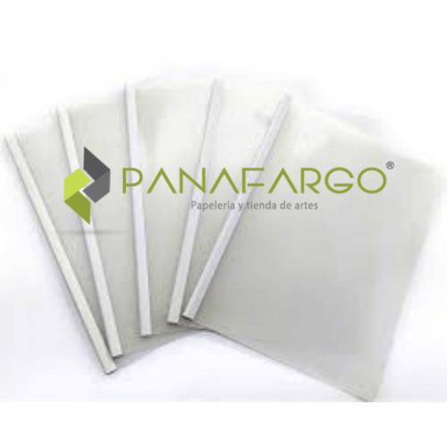 Carpeta Bisel Carta y Oficio Plastica transparente + Panafargo