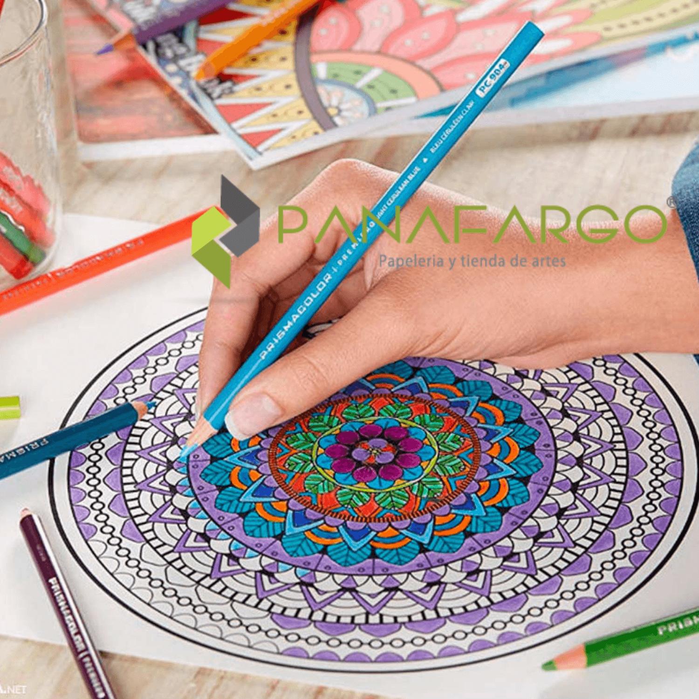Estuche Prismacolor Premier X 12 Colores Mas Libro Para Colorear mano + Panafargo