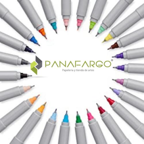 Micropunta Sharpie Permanente x 12 Colores Mas Estuche en circulo + Panafargo