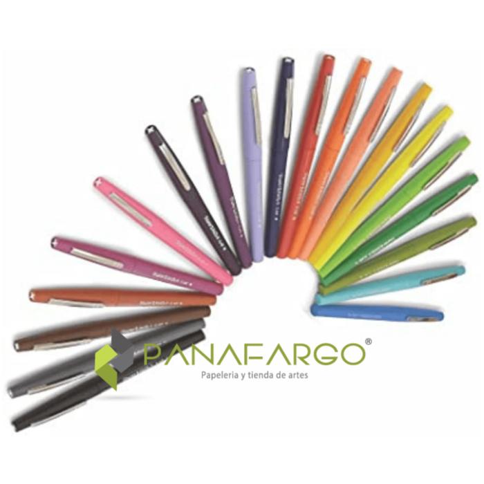 Paper Mate Micropunta Flair Felt Tip Candy Pop X 24 Abanico + Panafargo