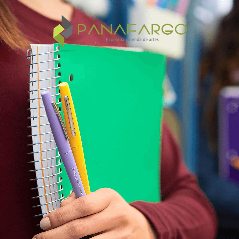 Paper Mate Micropunta Flair Felt Tip Candy Pop X 24 cuaderno + Panafargo