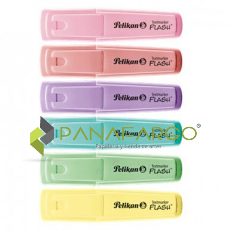 Resaltador Pastel Pelikan X 6 sin estuche + Panafargo