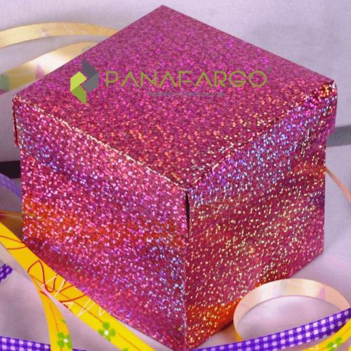 Papel Hologramico Rollo X 5 Pliegos 70 X 50 cm Caja + Panafargo