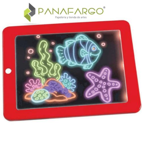 Tablet Magic Plástica Pequeña Para Dibujo Pez + Panafargo