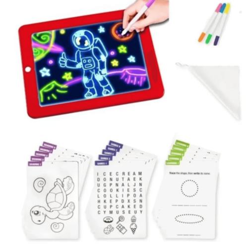 Tablet Magic Plástica Pequeña Para Dibujo kit + Panafargo